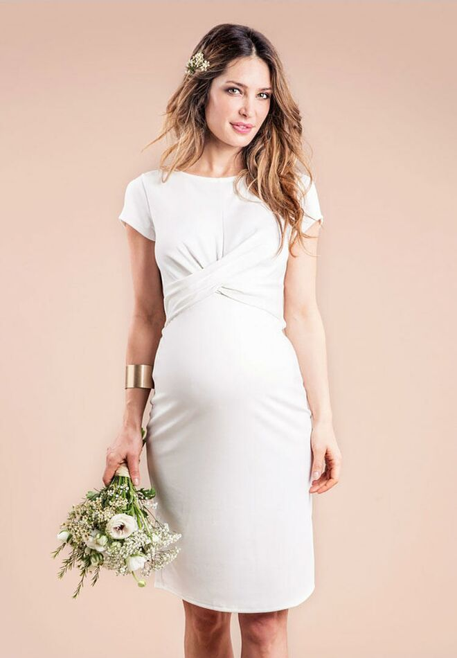 6bde71b16359c Envie de Fraise audrey cheap maternity wedding dress