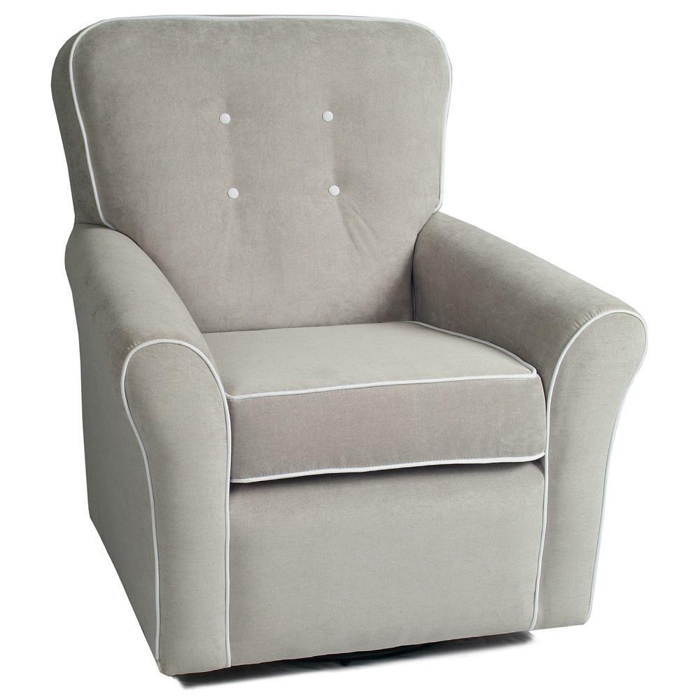 little castle kacy collection morgan nursery swivel glider