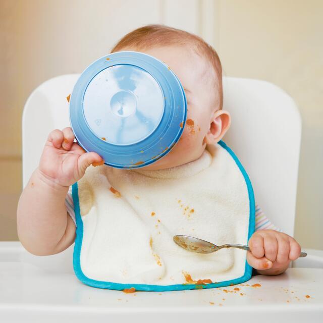 Bye-Bye Baby Food: Self-Weaning Babies