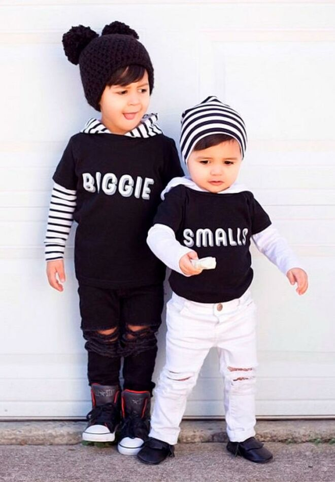 Cute Matching Sibling Outfits for 2018 e18f0665c