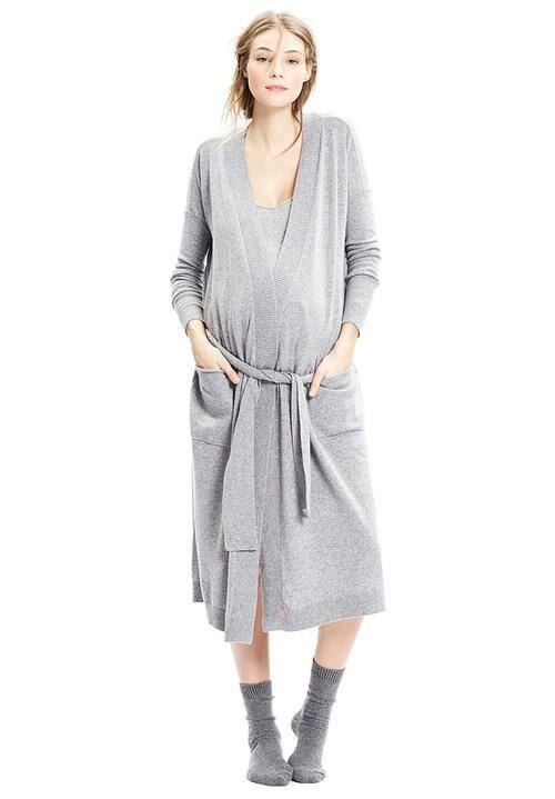 Hatch cashmere robe