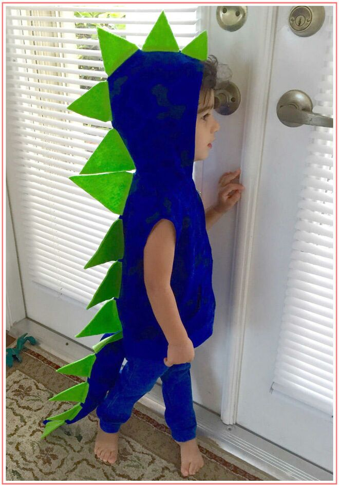 Do it yourself dinosaur costume toddler halloween costume diy dinosaur solutioingenieria Gallery