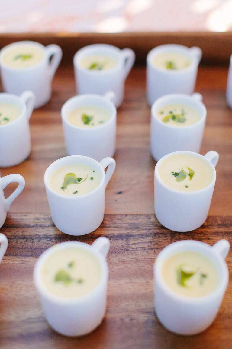 Soup Hors D'oeuvres