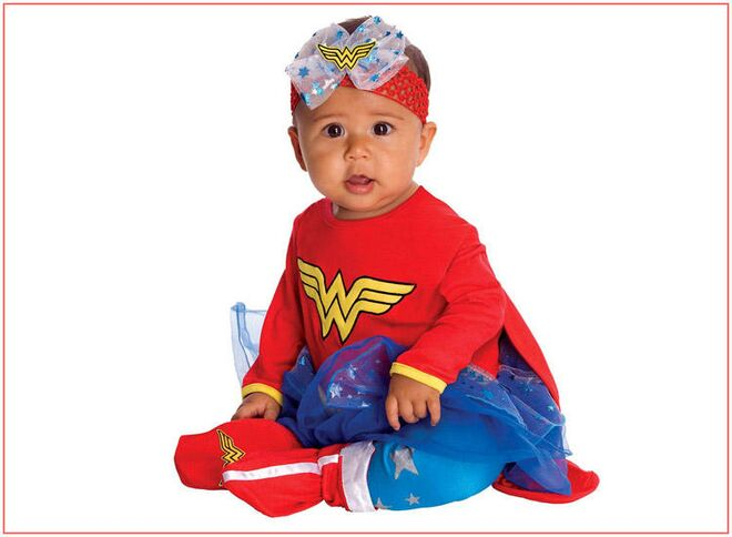 baby-halloween-costumes-girl-wonder-woman  sc 1 st  The Bump & 36 Best Baby Halloween Costumes 2017