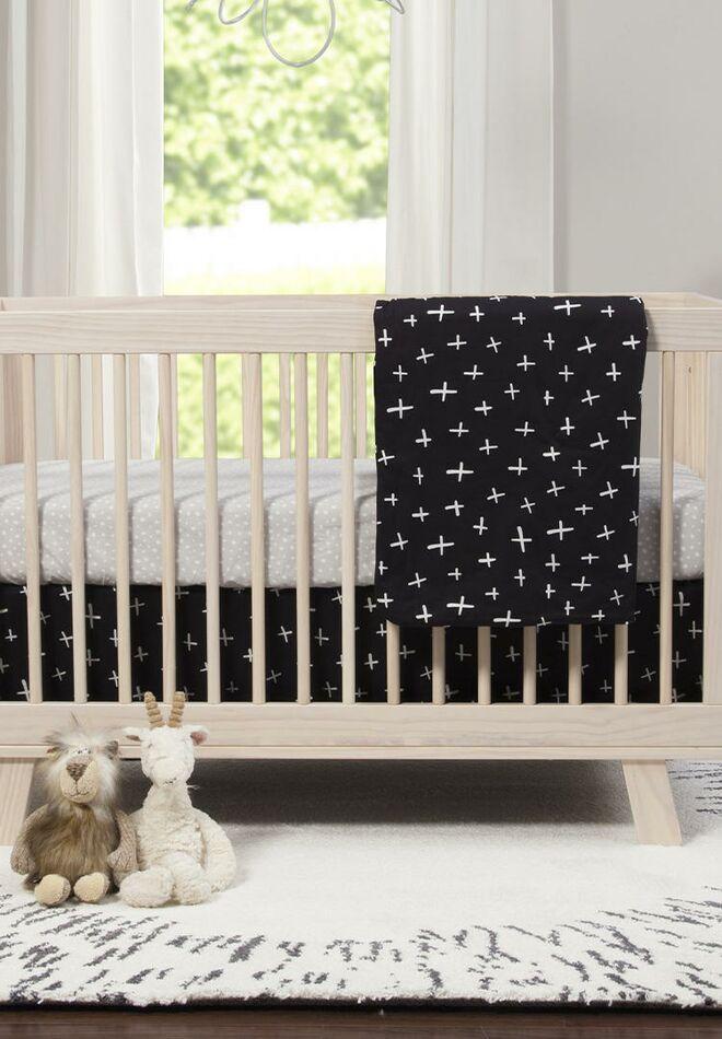 Monochrome Crib Bedding