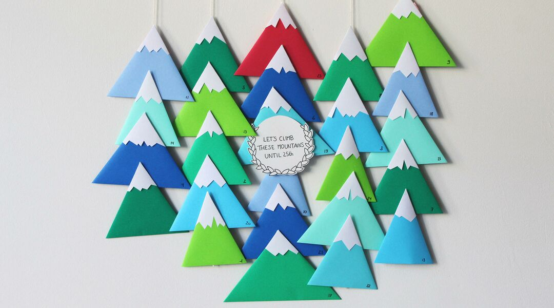 Mountain Top Advent Calendar
