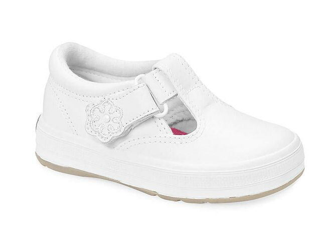 Keds White Baby Walking Shoes