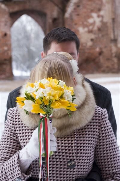 Casual Winter Wedding