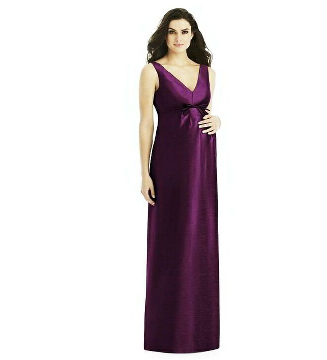 Periwinkle Violet Gown for Bridesmaid