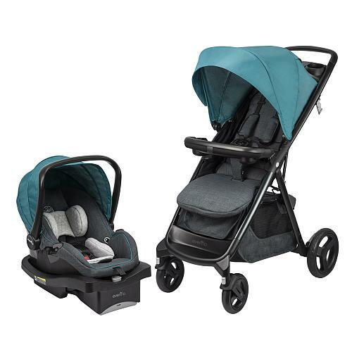 Evenflo Lux24 Travel System With Litemax 35 Infant Car