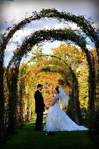 Outdoor October Wedding