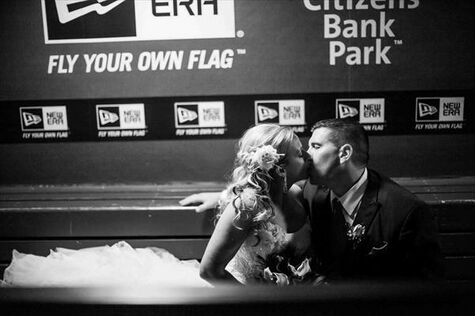 Jennifer & Nino: A Baseball Lover's Dream Wedding