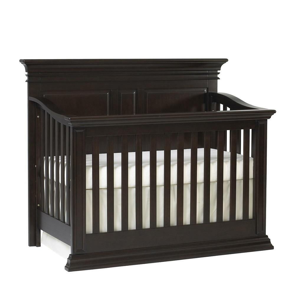 Baby Cache Vienna 4 In 1 Convertible Crib Espresso From Baby Cache The Bump Baby Registry