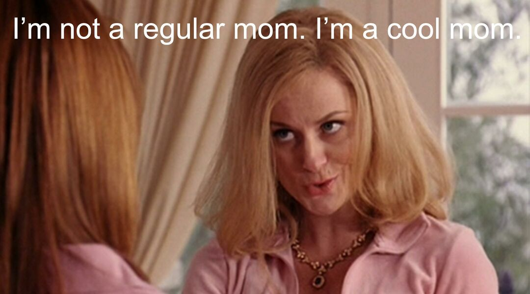 Amy Poehler from 'Mean Girls' calling herself a cool mom