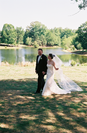 Southern outdoor elegant wedding