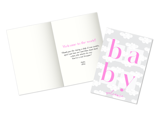 Baby Shower Facebook Statuses ~ Baby shower wishes: what to write in a baby shower card