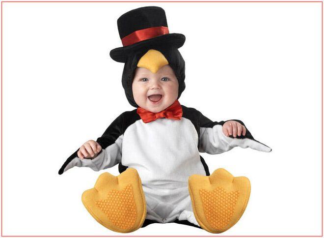 baby halloween costumes cute penguin