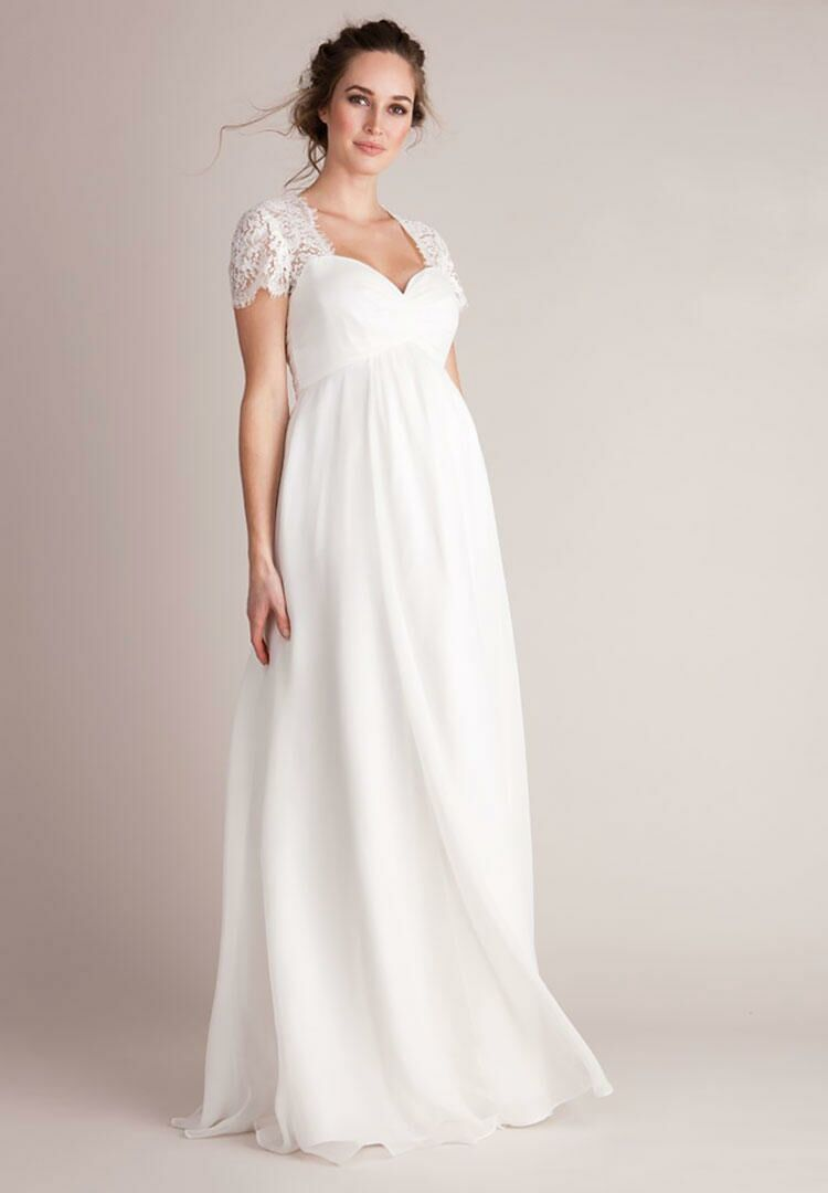 dc35fa7a88 23 Maternity Wedding Dresses
