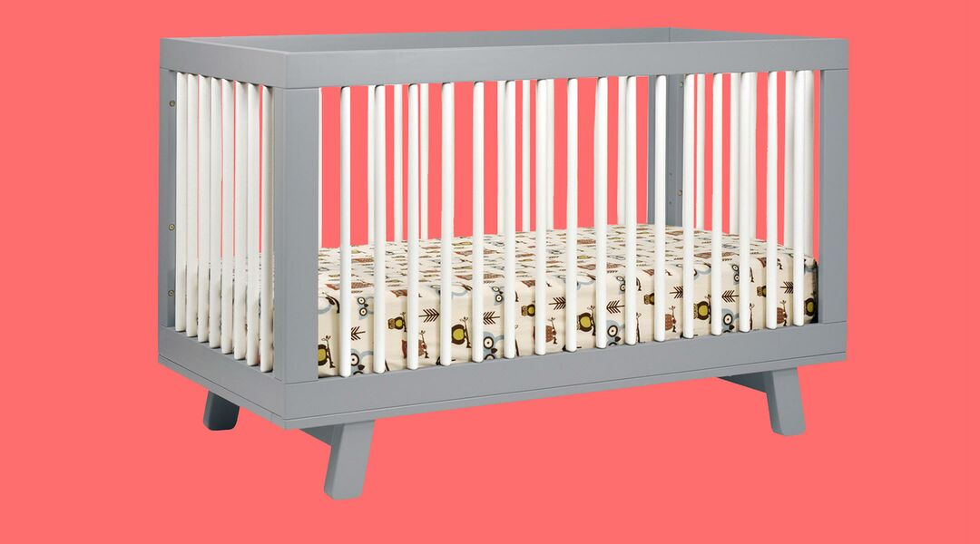 Publicity photo of the Babyletto Hudson 3-in-1 Convertible Crib.