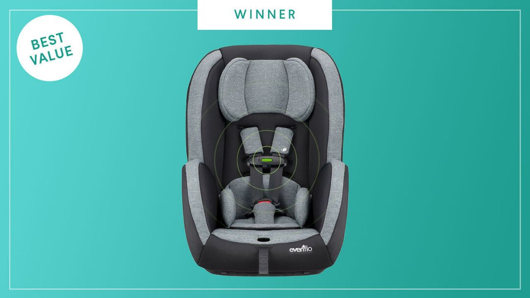 Evenflo Advanced SensorSafe Titan 65 Convertible Car Seat wins the 2017 Best of Baby Award from The Bump