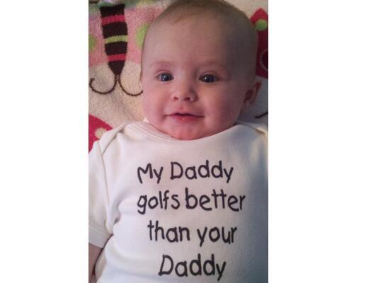 Babies Wearing Funny Onesies