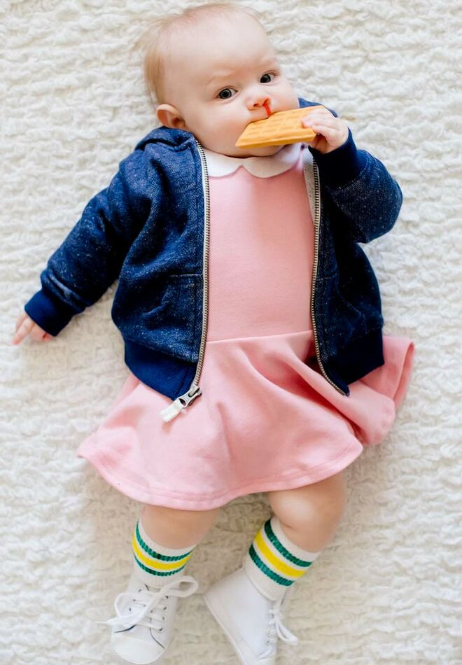 36 best baby halloween costumes 2017 baby halloween costumes stranger things baby eleven solutioingenieria Image collections