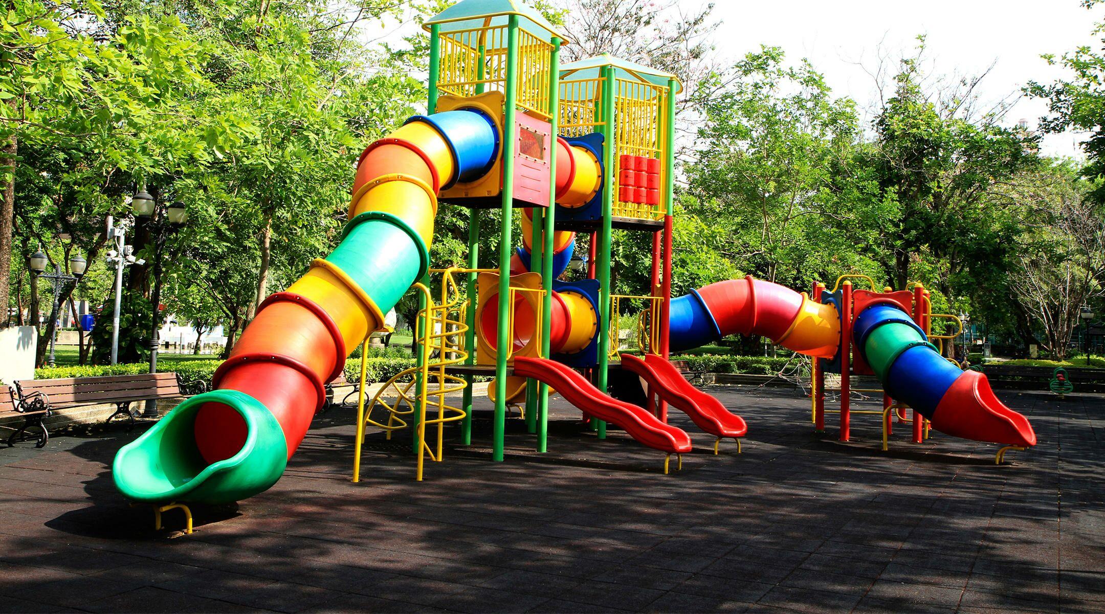 Twin Toddler Playground Safety?