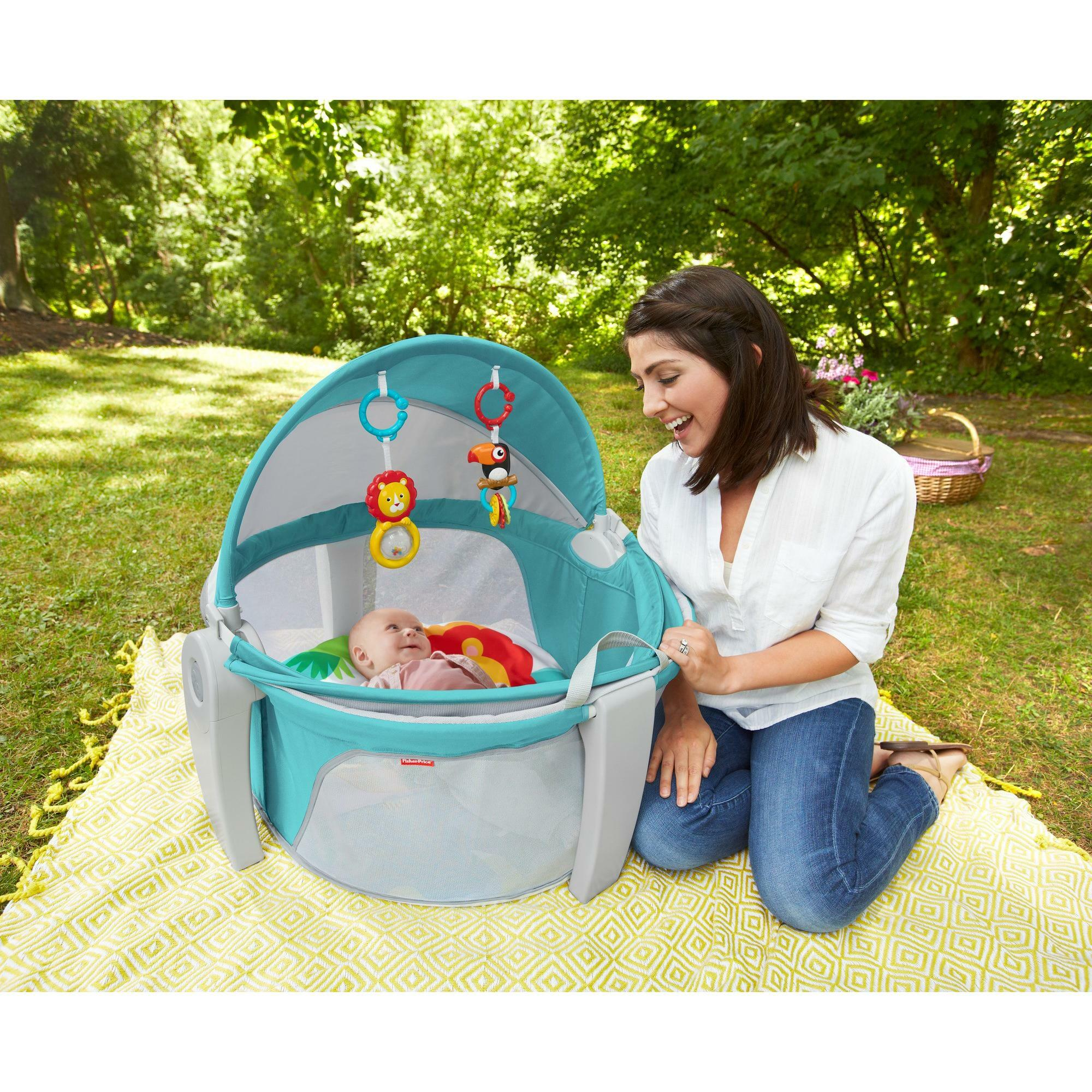 Drf35 On The Go Baby Dome From Fisher Price The Bump