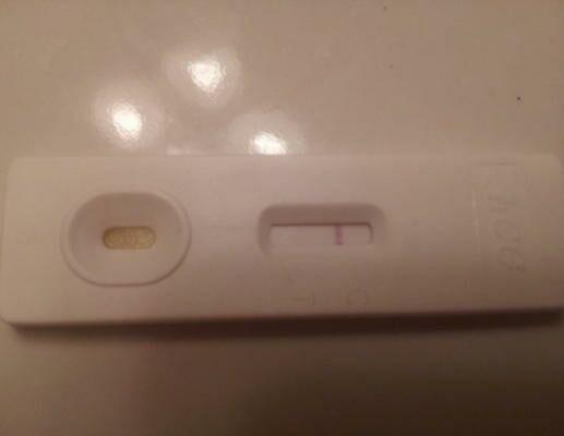 first response pregnancy test faint second line