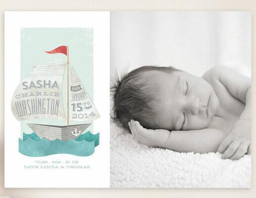 Photo Birth Announcements