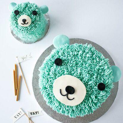 Baby Boy First Birthday Cake Homemade
