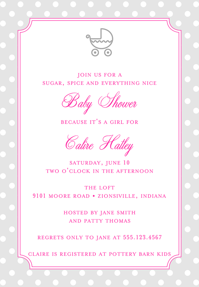 Marvelous Baby Shower Invitation Wording For A Girl U2013 1 For Baby Shower Invitations Words