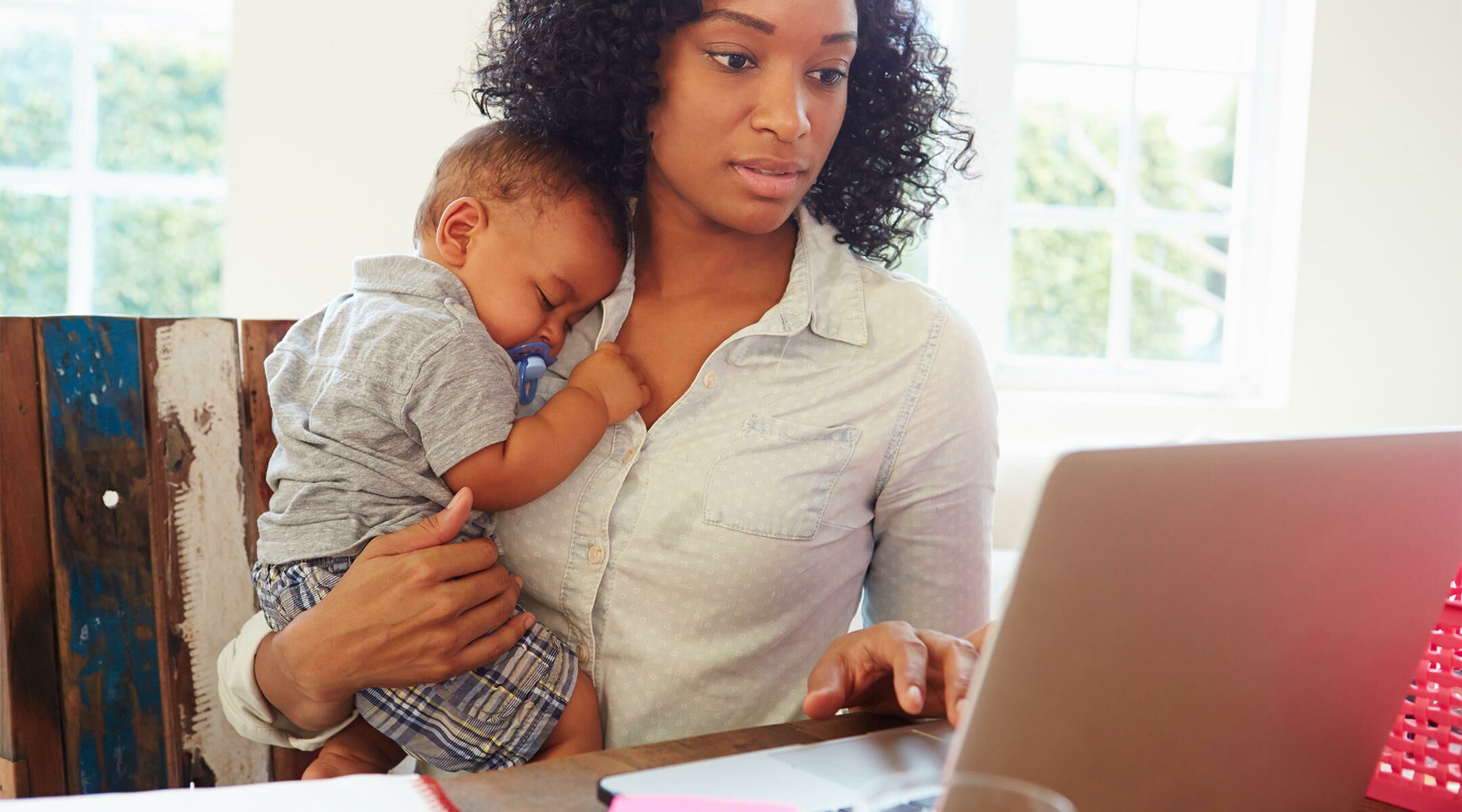 A Day in the Life of a Work at HomeMom