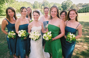 Southern outdoor elegant wedding