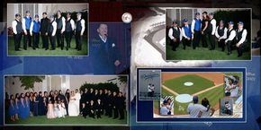 Our Dodger Wedding