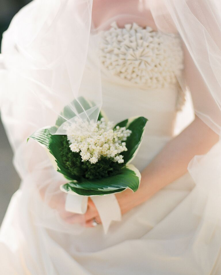 White Lily Of The Valley Bouquet