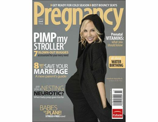Pregnant Celebrities on Magazine Covers