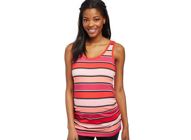 1e6c87ccc2438 motherhood-side-ruched-scoop-neck-maternity-fitness