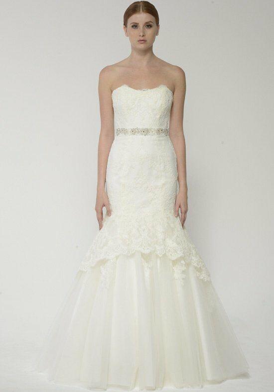 Bliss monique lhuillier bl1304 wedding dress the knot for Wedding dress rental baton rouge