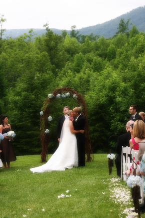 An Outdoor Wedding in Dahlonega, Georgia