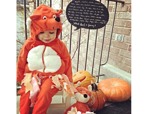 Cute DIY Baby Halloween Costumes