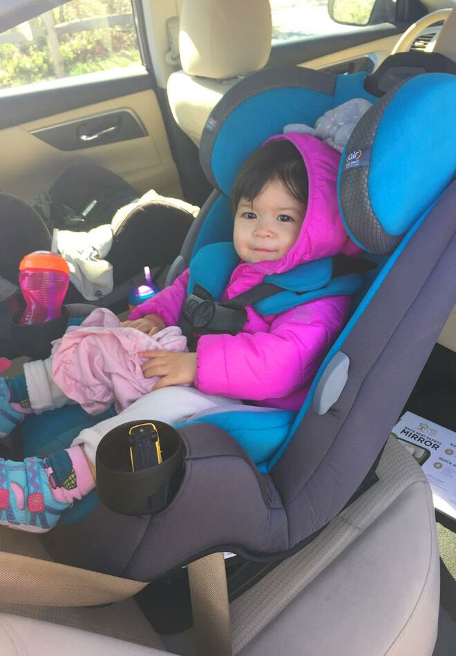 Safety 1st Grow and Go Air 3-in-1 Convertible Car Seat Review