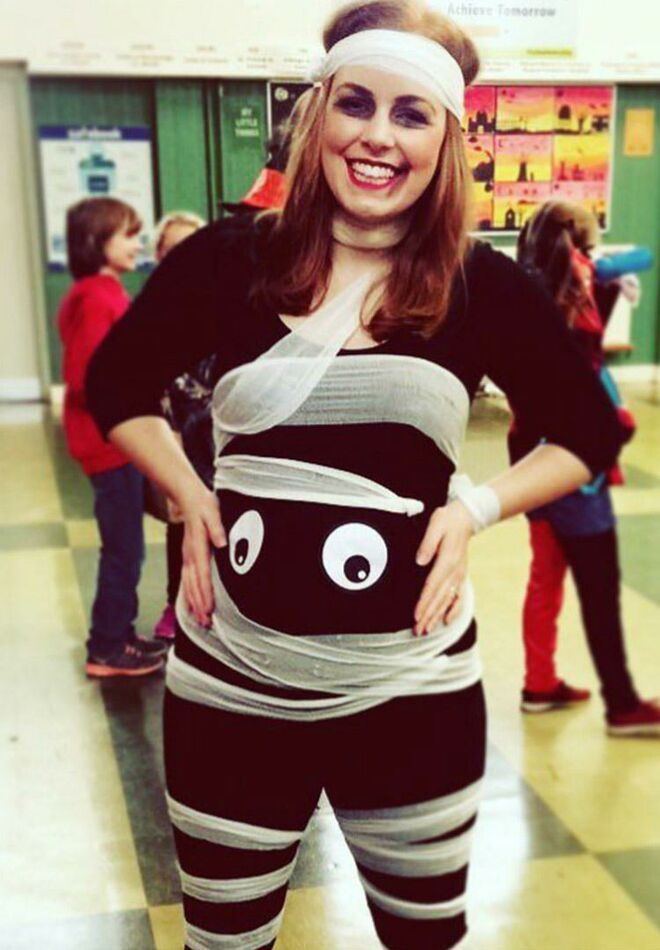 maternity-halloween-costumes-mummy  sc 1 st  The Bump & 26 Best Maternity Halloween Costumes