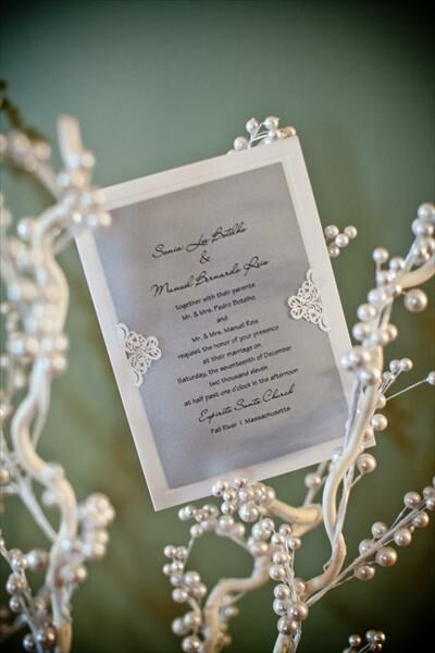 Sonia & Manny's Wedding; A Winter Wonderland