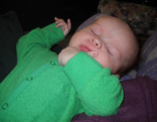 Hilariously Awesome Photos of Sleeping Babies
