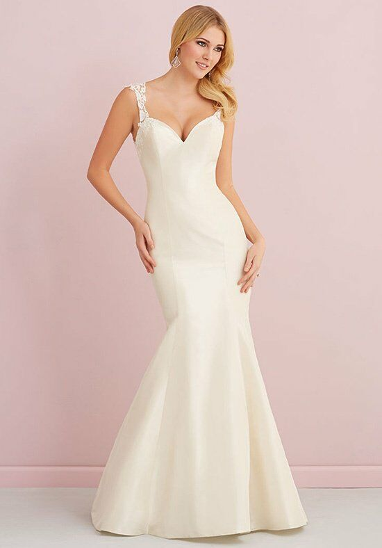 Allure romance 2667 wedding dress the knot for Wedding dresses the knot