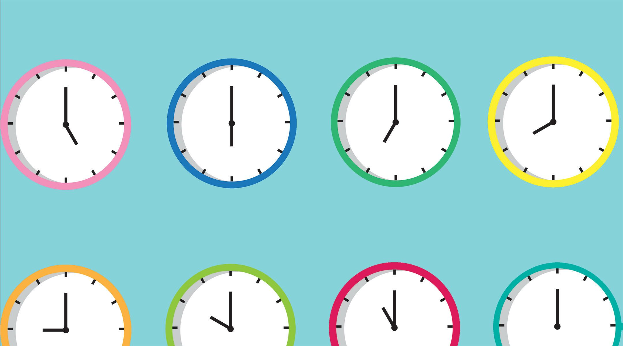 how to change time on
