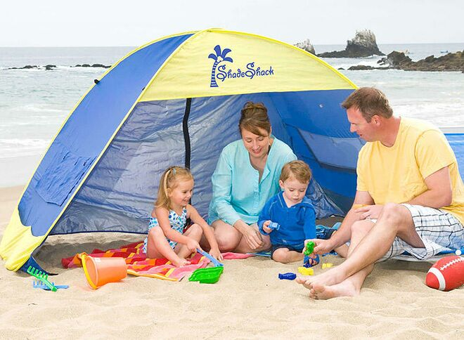 Shade Shack baby beach tent  sc 1 st  The Bump & Best Baby Beach Tents