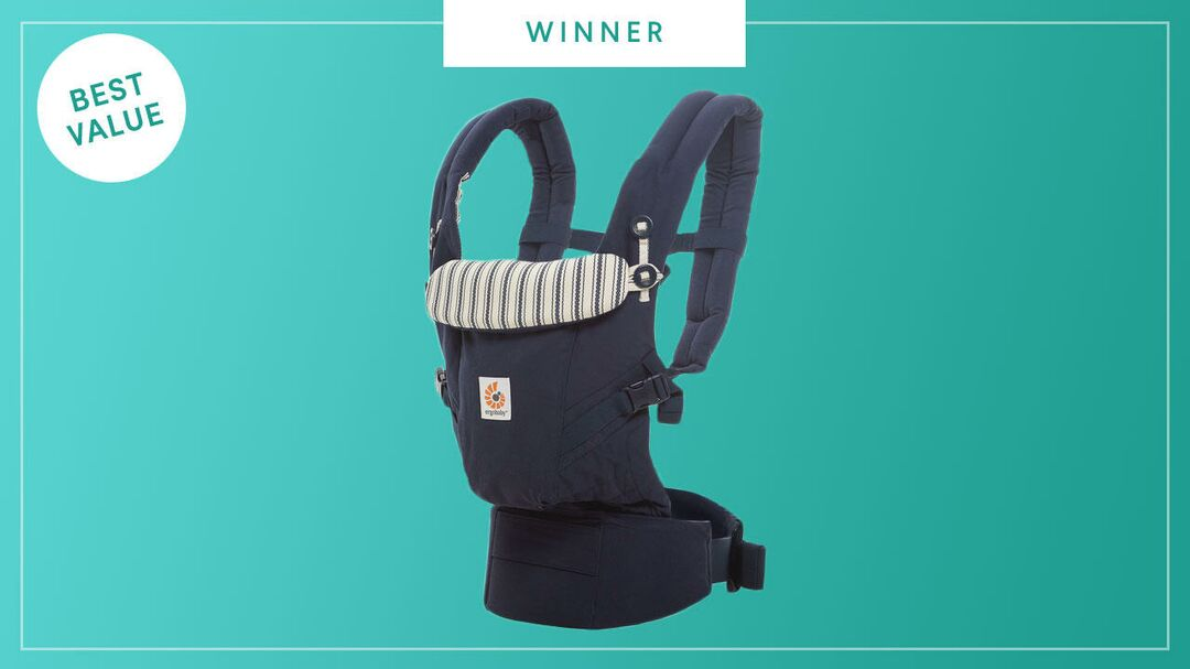 Ergobaby Adapt wins the 2017 Best of Baby Award from The Bump