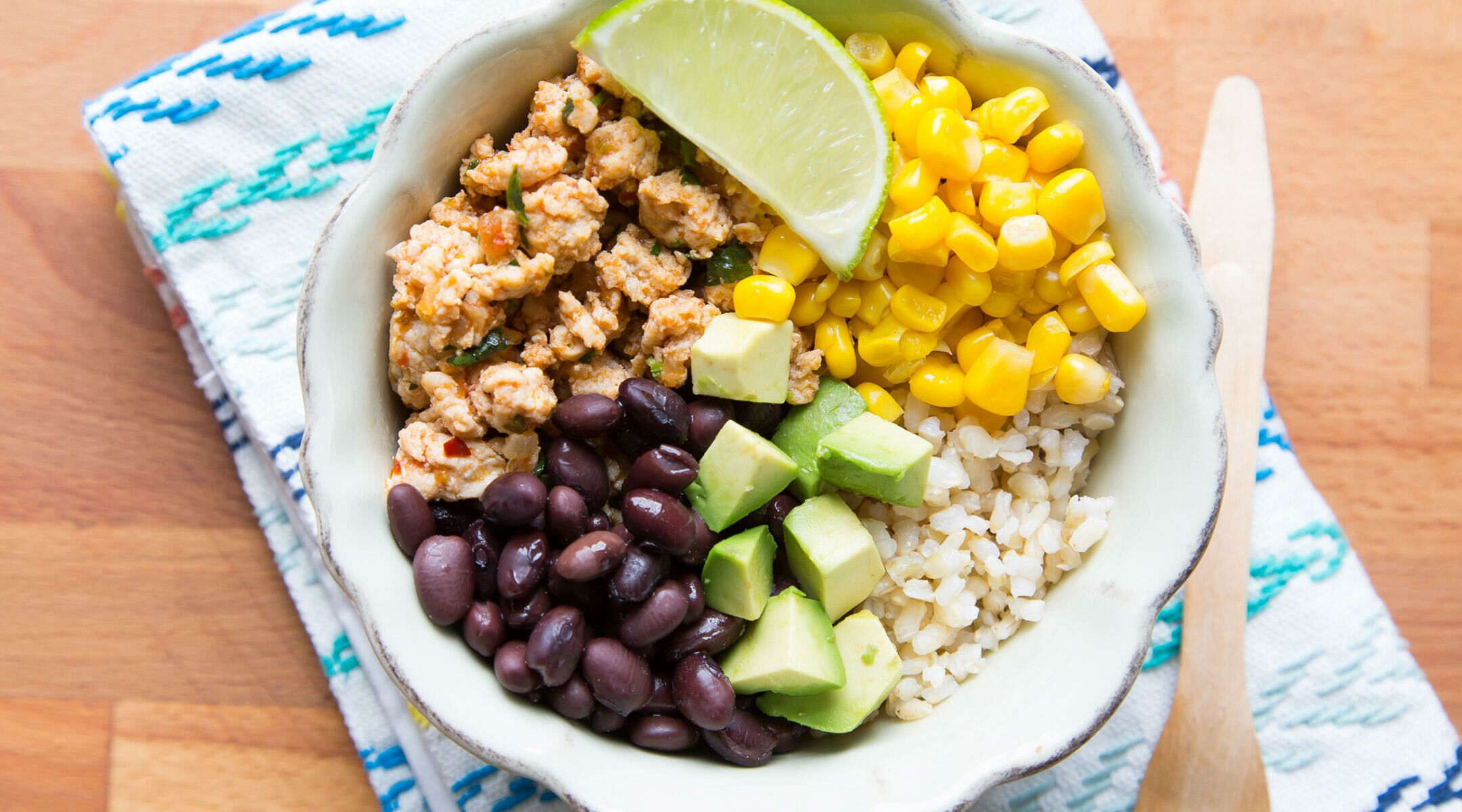 Top 10 recipes for one year olds loaded turkey taco bowl forumfinder Choice Image